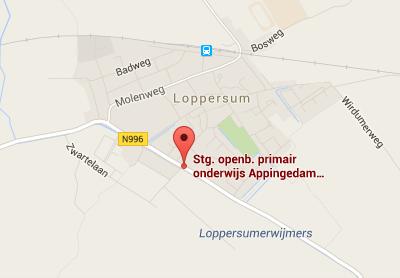 Stichting openbaar onderwijs Marenland op Google Maps